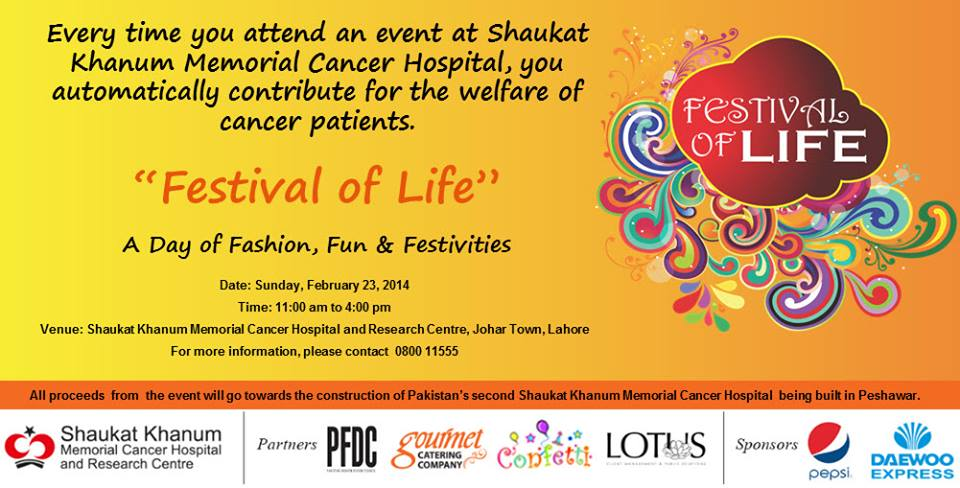Festival of Life [F]
