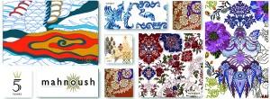 Mahnoush by Arjumand Amin Teaser Print Collage [F]