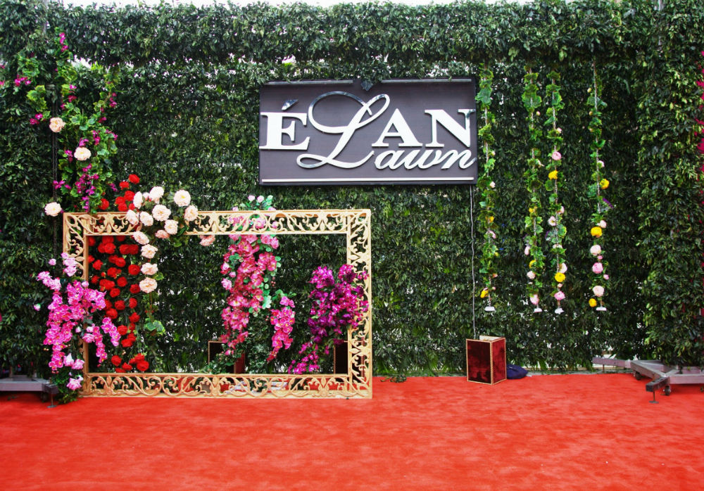 Elan Lawn 2014 Collection Launch Setup