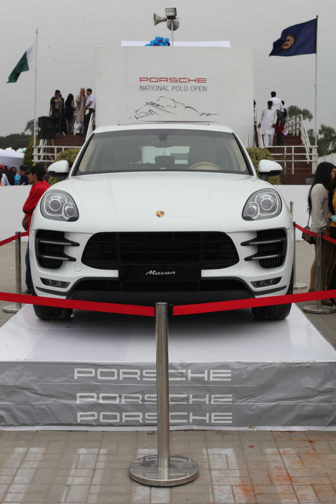 Porsche Reveal The All-new Macan At The Final Of The Porsche National Polo Open 2014