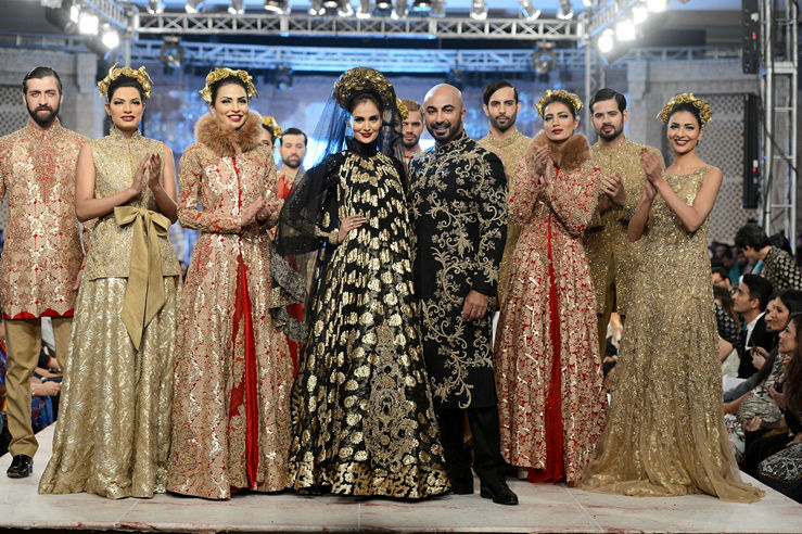 PFDC L'Oréal Paris Bridal Week 2014 Day 1