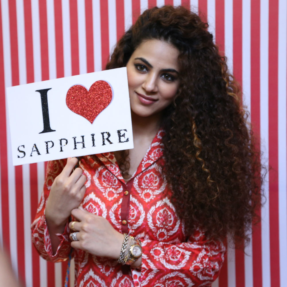 sapphire valentine's day collection