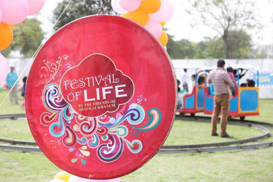 shaukat khanum festival of life 2015