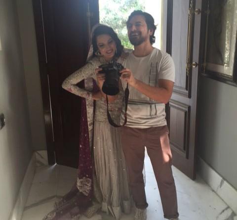 farah talib aziz behind the scenes