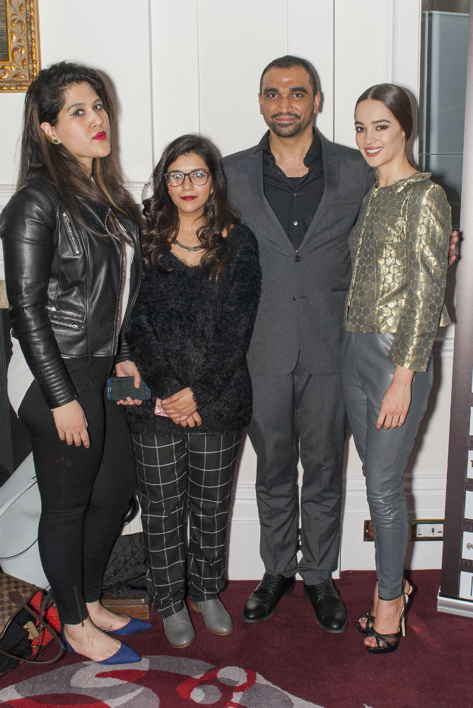 omar mansoor london fashion week 2016